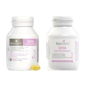 Vitamin bà bầu Bio Island DHA 60 viên