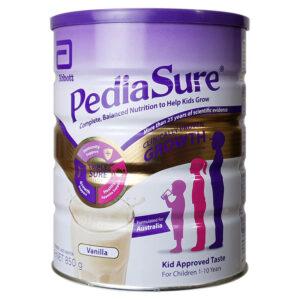 Sữa PediaSure Úc Nắp Tím 850G (trẻ từ 1-10 tuổi)